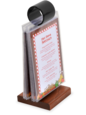 Flip-Top Menu Holders