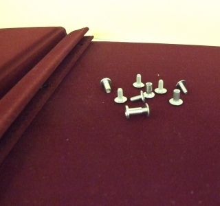 Screws and Posts for Wine Lists